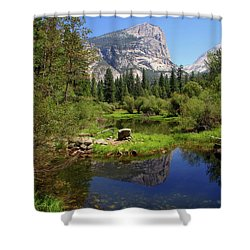 @ Yosemite Shower Curtain