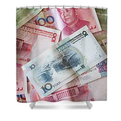Shower Curtain featuring the photograph  Yuan by Andrey  Godyaykin