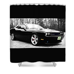 0-60in4 Shower Curtain by Robin Dickinson