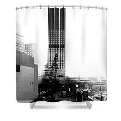 0 Mile Marta  Shower Curtain