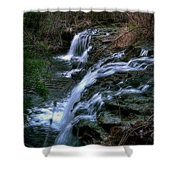 0001 Three Sister Islands Series Shower Curtain