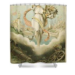 Atlanta Exposition, 1895 Shower Curtain by Granger