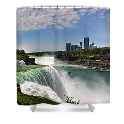 004 Niagara Falls  Shower Curtain