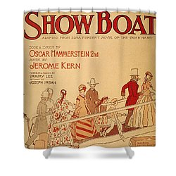 Show Boat Poster, 1927 Shower Curtain by Granger