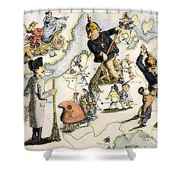 Europe: 1848 Uprisings Shower Curtain by Granger