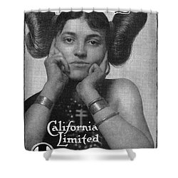 Hairstyle: Hopi, 1911 Shower Curtain by Granger