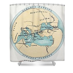 Voyage Of The Argonauts Shower Curtain by Granger