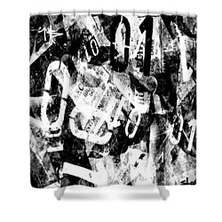 01 Shower Curtain by Sladjana Lazarevic