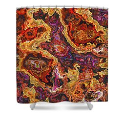 010118 Abstract Shower Curtain