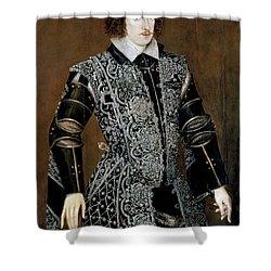 Sir Robert Devereux Shower Curtain by Granger
