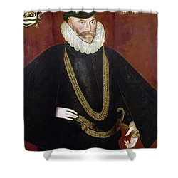 Sir John Hawkins Shower Curtain by Granger