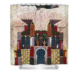Facundus Beatus, 1047 Shower Curtain by Granger
