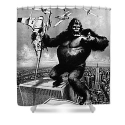 King Kong, 1976 Shower Curtain by Granger