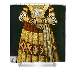 Katharina Von Mecklenburg Shower Curtain by Granger