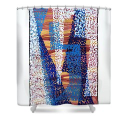 01325 Blue Too Shower Curtain