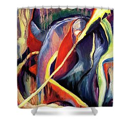 01355 Hot Shower Curtain