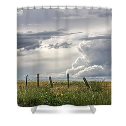 #0149 - Axtel Anceney, Southwest Montana Shower Curtain