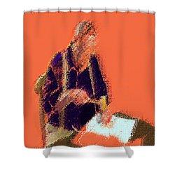 03232015 Digital Craftsman Shower Curtain