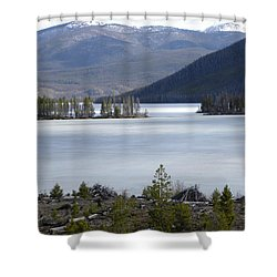 Granby Lake Rmnp Shower Curtain