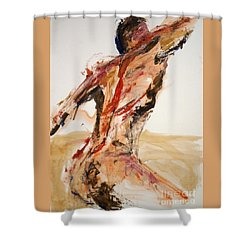 04861 Letting Go Shower Curtain