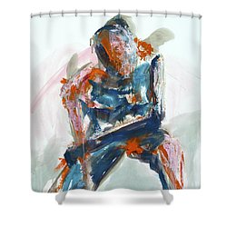 04954 Athlete Shower Curtain
