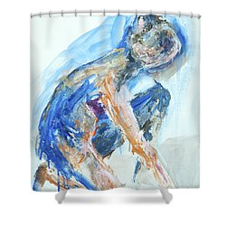 04955 Gardener Shower Curtain