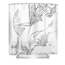 Unravelled       0511-18 Shower Curtain