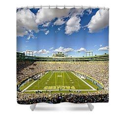 0538 Lambeau Field Shower Curtain by Steve Sturgill