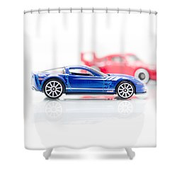 Shower Curtain featuring the photograph 09 Zr1 by Wade Brooks