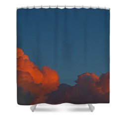 Fireclouds Shower Curtain