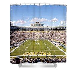 0991 Lambeau Field Shower Curtain