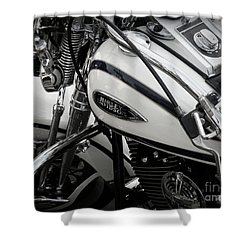 1 - Harley Davidson Series  Shower Curtain