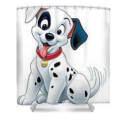 101 Dalmatians Hero 2 Shower Curtain