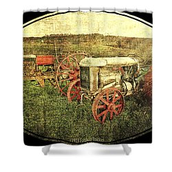 Vintage 1923 Fordson Tractors Shower Curtain