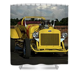 1928 Ford Bucket T Hot Rod Shower Curtain