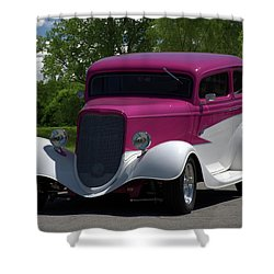1933 Ford Vicky Shower Curtain by Tim McCullough