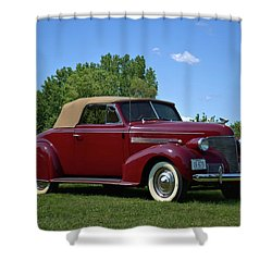 1939 Chevrolet Convertible Shower Curtain