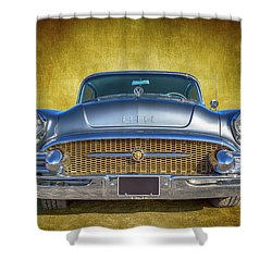1955 Buick Shower Curtain