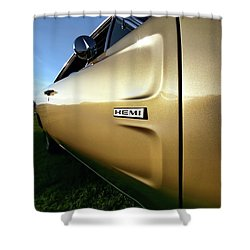 1968 Dodge Charger Hemi Shower Curtain by Gordon Dean II