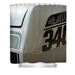 1971 Plymouth Duster 340 Shower Curtain by Gordon Dean II