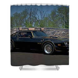 1978 Pontiac Trans Am Shower Curtain
