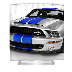 2008 Shelby Ford Gt500kr Shower Curtain