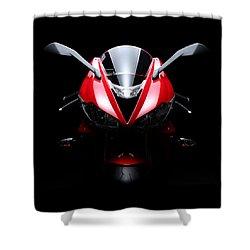 2013 Triumph Daytona 675 Shower Curtain