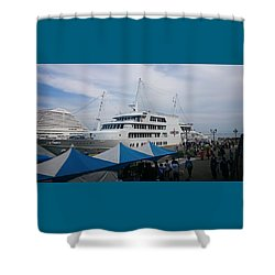 Port City Shower Curtain