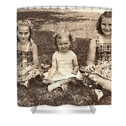 3 Sisters Shower Curtain