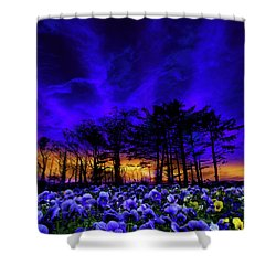 Shower Curtain featuring the photograph 4413 by Peter Holme III