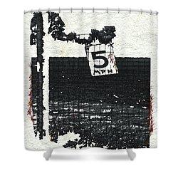 5 Mph Shower Curtain