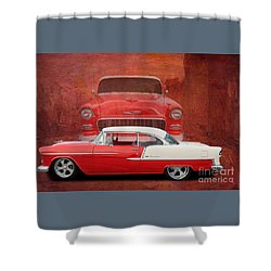 55 Chev Shower Curtain