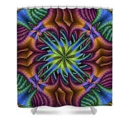 A Jungle Shower Curtain