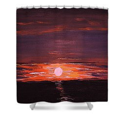A Little Sun For Gaby Shower Curtain